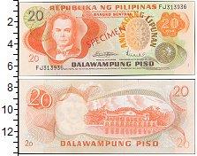 Изображение Банкноты Филиппины 20 писо 1974  UNC-