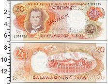 Изображение Банкноты Азия Филиппины 20 писо 1969  UNC