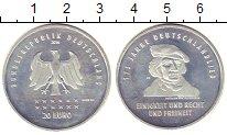 Изображение Монеты Европа Германия 20 евро 2016 Серебро UNC