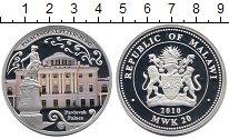 Изображение Монеты Малави 20 квач 2010 Серебро Proof Цветная  печать.  Дв