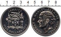 Изображение Монеты Ямайка 5 долларов 1975 Медно-никель UNC