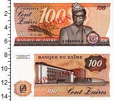 Изображение Банкноты Заир 100 заир 1983  UNC