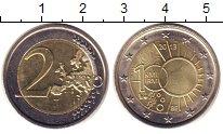 Изображение Монеты Европа Бельгия 2 евро 2013 Биметалл UNC-