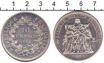 Изображение Монеты Франция 10 франков 1965 Серебро XF