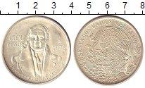 Изображение Монеты Северная Америка Мексика 100 песо 1978 Серебро UNC-