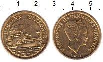Изображение Монеты Европа Дания 20 крон 2011 Латунь UNC-