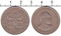 Изображение Монеты Кения 1 шиллинг 1980 Медно-никель VF Президент.Герб