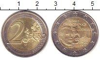 Изображение Монеты Люксембург 2 евро 2012 Биметалл XF