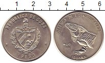 Изображение Монеты Куба 1 песо 1985 Медно-никель UNC- Игуана