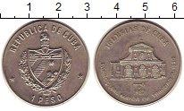 Изображение Монеты Куба 1 песо 1987 Медно-никель UNC-