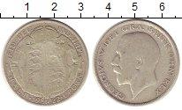 Изображение Монеты Великобритания 1/2 кроны 1922 Серебро VF Георг V.