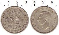 Изображение Монеты Великобритания 1/2 кроны 1940 Серебро XF