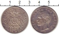 Изображение Монеты Германия Бавария 2 марки 1912 Серебро XF