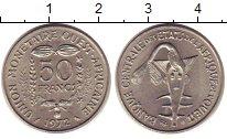 Изображение Монеты Африка Центральная Африка 50 франков 1972 Медно-никель UNC-