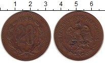 Изображение Монеты Мексика 20 сентаво 1935 Бронза XF