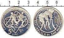 Изображение Монеты Европа Сан-Марино 5 евро 2004 Серебро Proof-