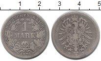 Изображение Монеты Германия 1 марка 1876 Серебро VF