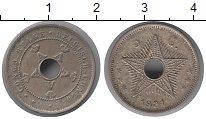 Изображение Монеты Бельгийское Конго 5 сантим 1921 Медно-никель XF-