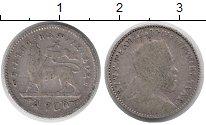 Изображение Монеты Африка Эфиопия 1 герш 1895 Серебро VF