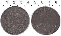 Изображение Монеты Франция 1 экю 1727 Серебро VF