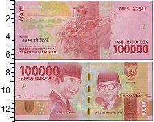 Изображение Банкноты Азия Индонезия 100000 рупий 2016  UNC