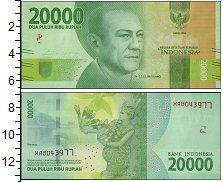 Изображение Банкноты Азия Индонезия 20000 рупий 2016  UNC