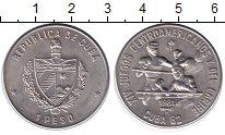 Изображение Монеты Куба 1 песо 1981 Медно-никель UNC 14 Центральноамерика