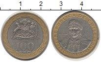 Изображение Дешевые монеты Южная Америка Чили 100 песо 2006 Биметалл XF