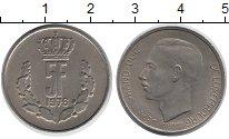 Изображение Дешевые монеты Люксембург 5 франков 1976 Медно-никель XF