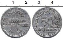 Изображение Дешевые монеты Европа Германия 50 пфеннигов 1920 Алюминий VF