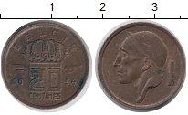Изображение Дешевые монеты Европа Бельгия 20 сантим 1954 Бронза XF