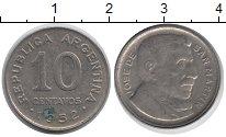 Изображение Дешевые монеты Аргентина 10 сентаво 1952 Медно-никель VF