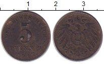 Изображение Монеты Европа Германия 5 пфеннигов 1917 Железо XF-