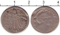 Изображение Монеты Ватикан 1 гроссо 1740 Серебро VF