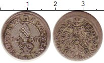 Изображение Монеты Аугсбург 2 крейцера 1637 Серебро XF-