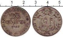 Изображение Монеты Женева 25 сантим 1847 Серебро XF-