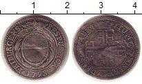 Изображение Монеты Швейцария Фрибург 7 крейцеров 1793 Серебро VF