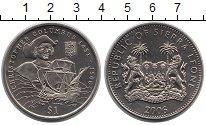 Изображение Монеты Сьерра-Леоне 1 доллар 2006 Медно-никель UNC-