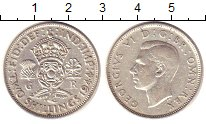 Изображение Монеты Великобритания 2 шиллинга 1944 Серебро XF