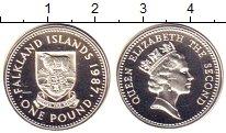 Изображение Монеты Фолклендские острова 1 фунт 1987 Серебро Proof