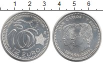 Изображение Монеты Испания 12 евро 2009 Серебро UNC