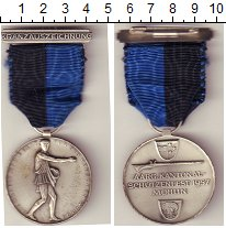 Изображение Монеты Европа Швейцария Стрелковый фестиваль 1957 Медно-никель XF