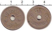 Изображение Монеты Румыния 10 бани 1905 Медно-никель VF