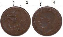 Изображение Монеты Европа Италия 10 сентесим 1923 Медь XF