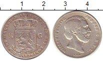 Изображение Монеты Европа Нидерланды 1/2 гульдена 1862 Серебро VF
