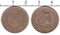 Изображение Монеты Бразилия 100 рейс 1935 Медно-никель XF