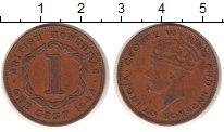 Изображение Монеты Белиз 1 цент 1944 Бронза XF