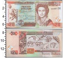 Изображение Банкноты Северная Америка Белиз 20 долларов 2014  UNC