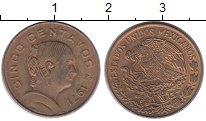 Изображение Монеты Мексика 5 сентаво 1971 Медь XF