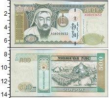 Изображение Банкноты Монголия 500 тугриков 2013  UNC